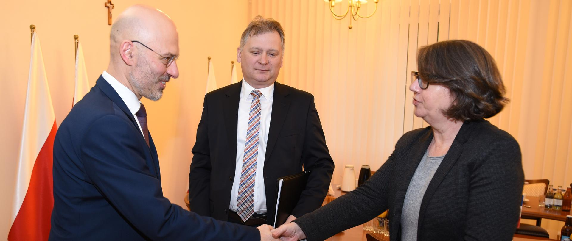 Minister Kurtyka spotyka się z delegacją francuską