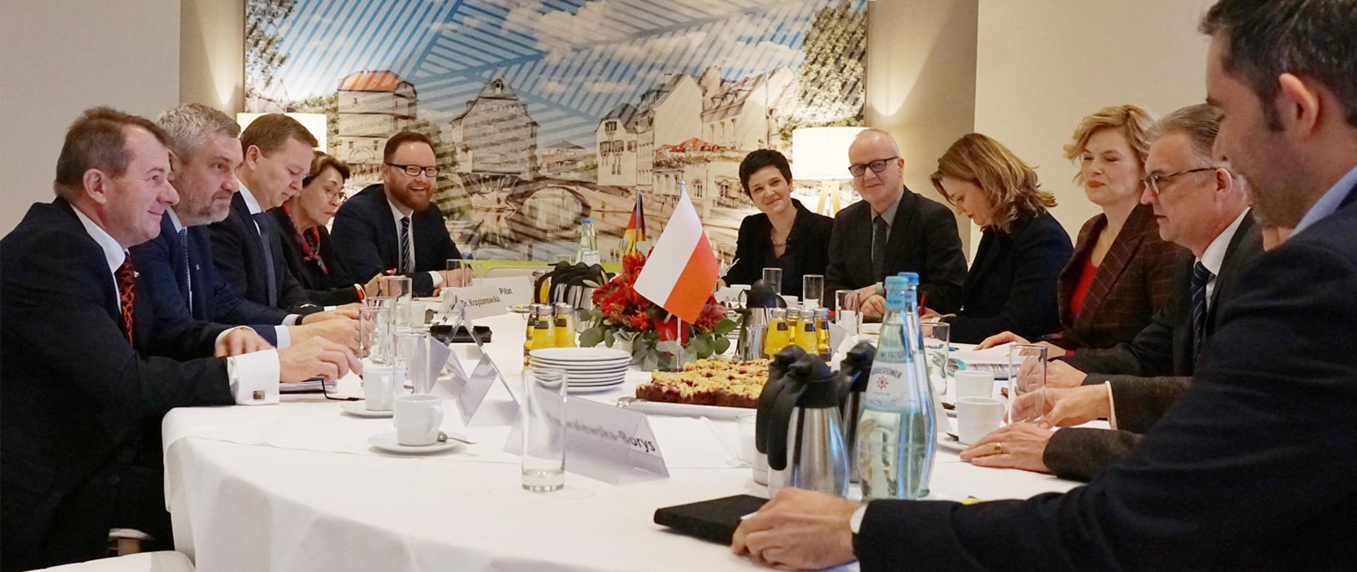 Spotkanie z Minister Wyżywienia i Rolnictwa RFN