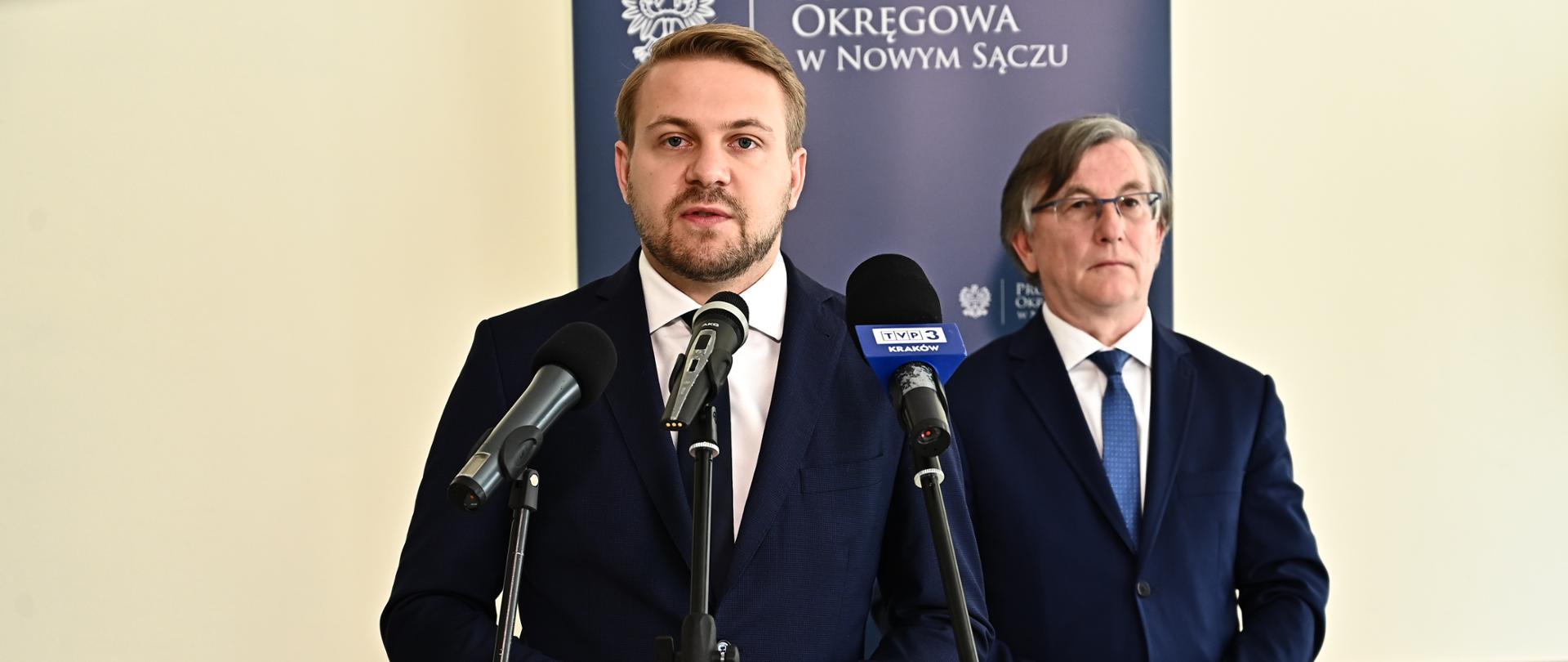 wiceminister klimatu Jacek Ozdoba
