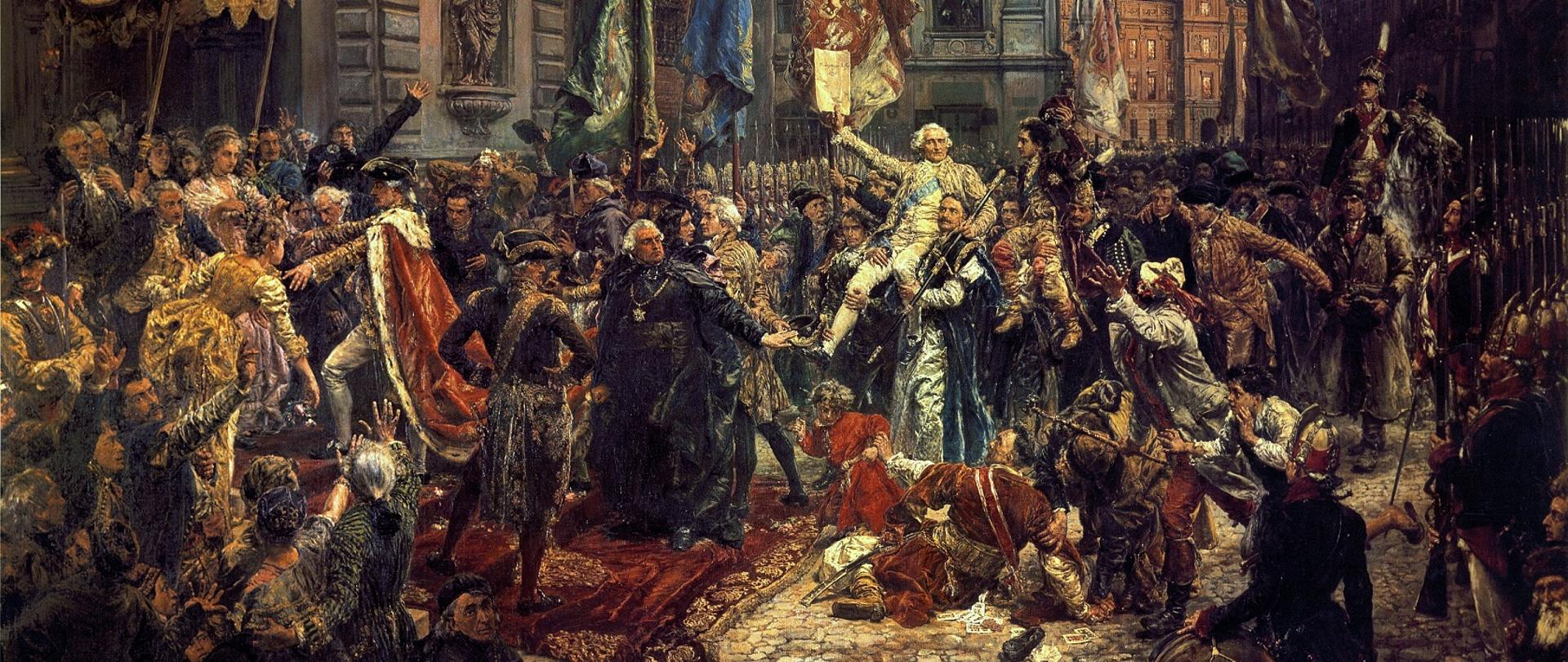 Konstytucja 3 maja - obraz Jana Matejki