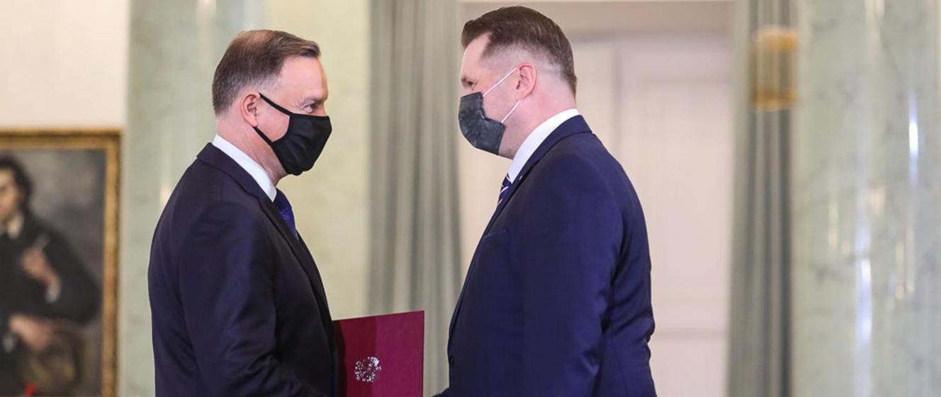 Przemysław Czarnek powołany na urząd Ministra Edukacji i Nauki - Ministerstwo Nauki i Szkolnictwa Wyższego - Portal Gov.pl
