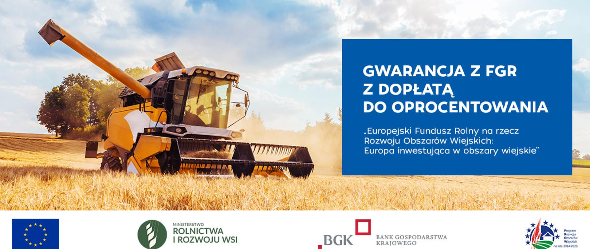 Gwarancja spłaty kredytu z Funduszu Gwarancji Rolnych wraz z dopłatą do  oprocentowania - Inspekcja Jakości Handlowej Artykułów Rolno-Spożywczych -  Portal Gov.pl