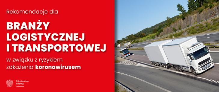 Rekomendacje dla branży logistycznej itransportowej wzwiązku zryzykiem zakażenia koronawirusem.