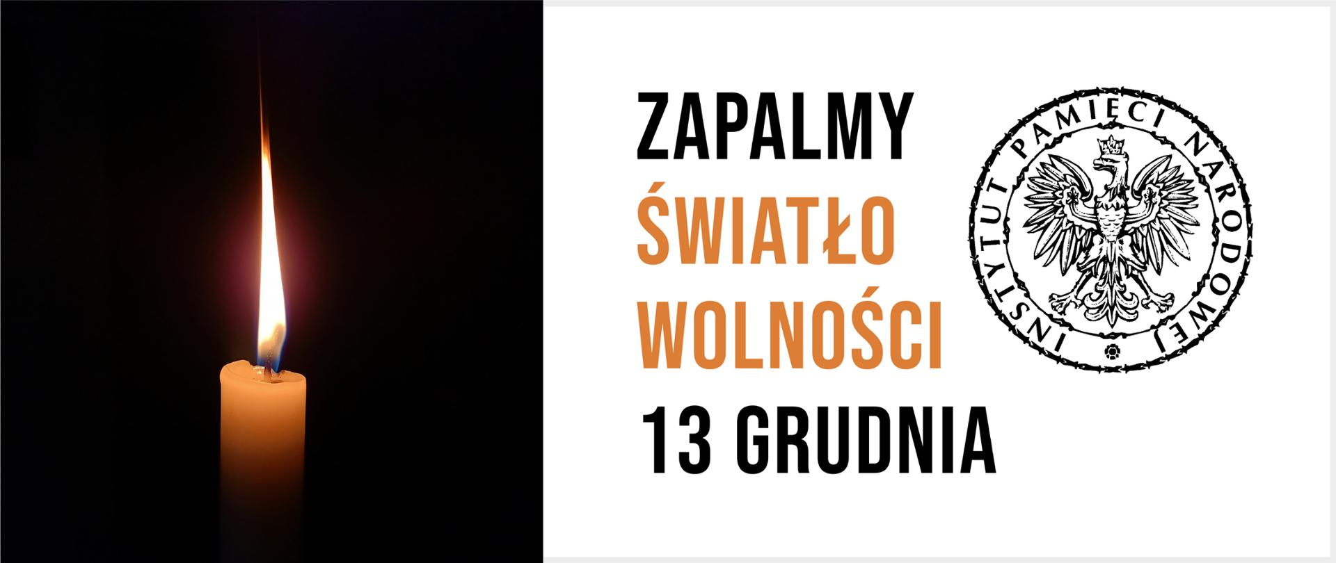 Zapalmy Światło Wolności – obchody 39. rocznicy wprowadzenia stanu  wojennego - Ministerstwo Edukacji Narodowej - Portal Gov.pl