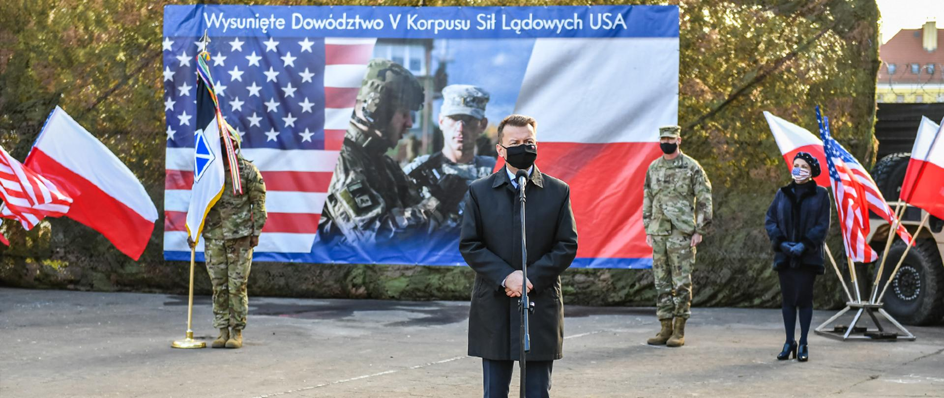 The inauguration of the activities of the Forward Command of the 5th Corps of US Land Forces in Poland