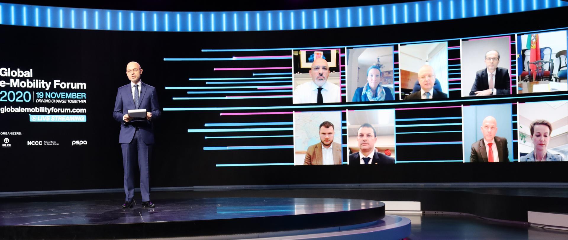 Minister Kurtyka na II edycji Global e-Mobility Forum