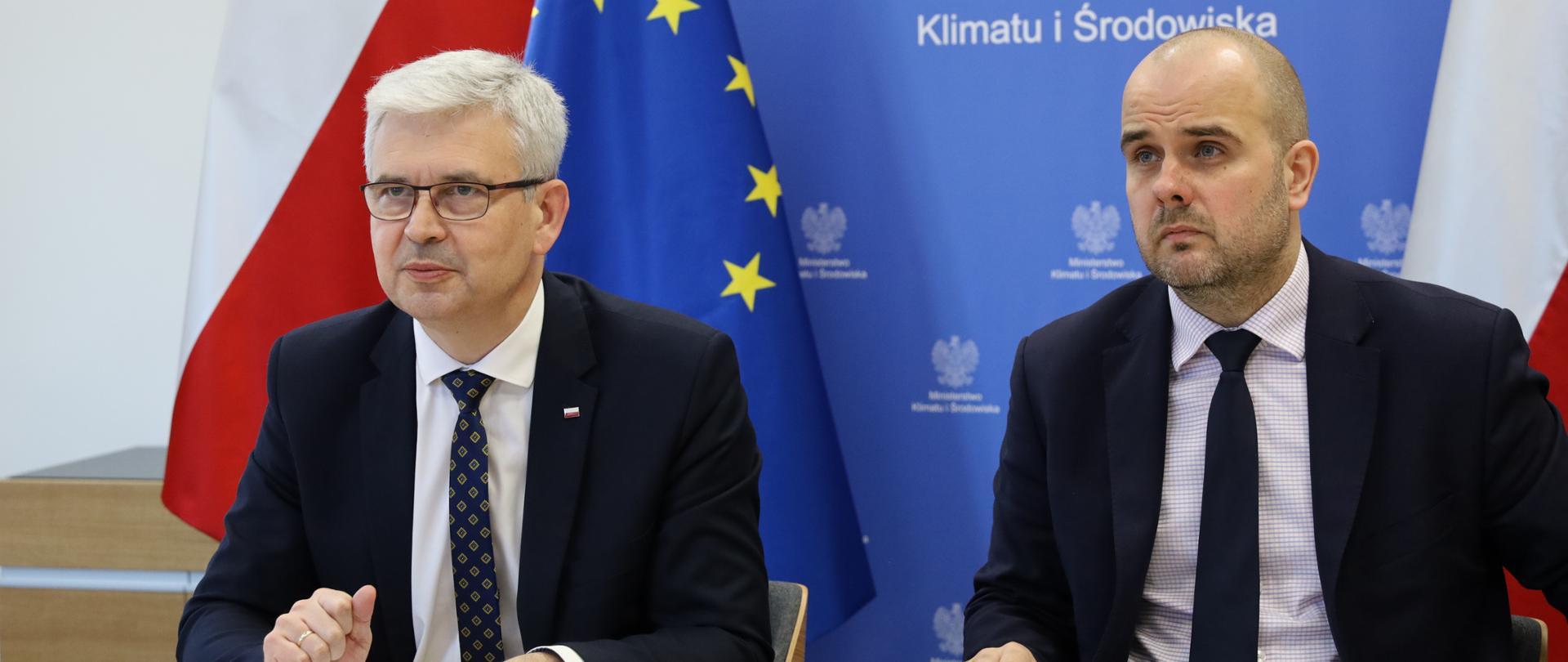 Wiceminister Ireneusz Zyska o współpracy w zakresie gospodarki wodorowej