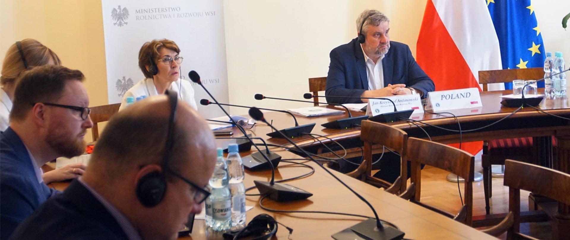 Z ministrami rolnictwa państw Grupy V4 o reformie WPR