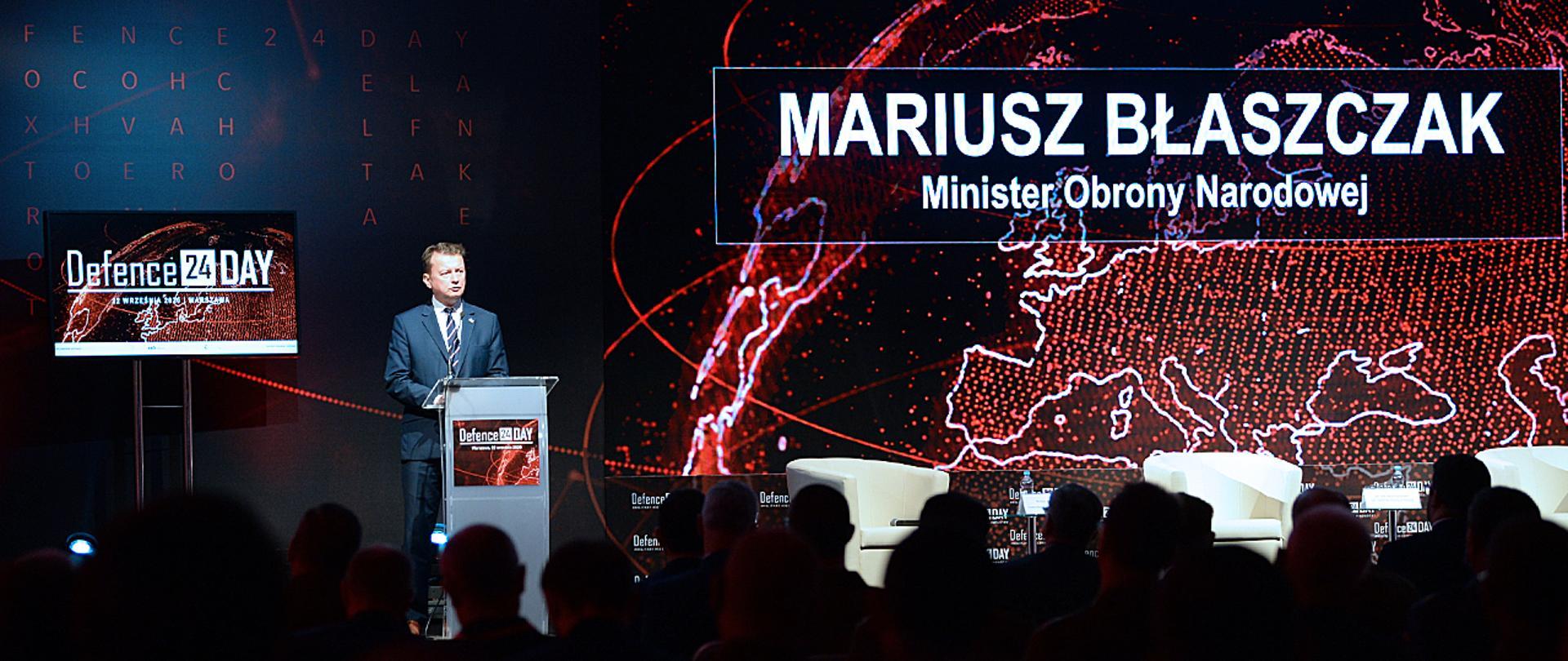 Minister na konferencji defence24