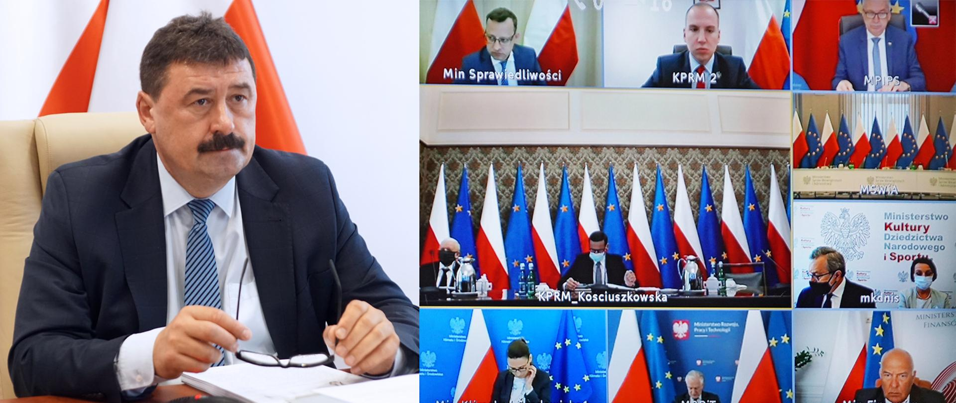 Sekretarz stanu Ryszard Bartosik