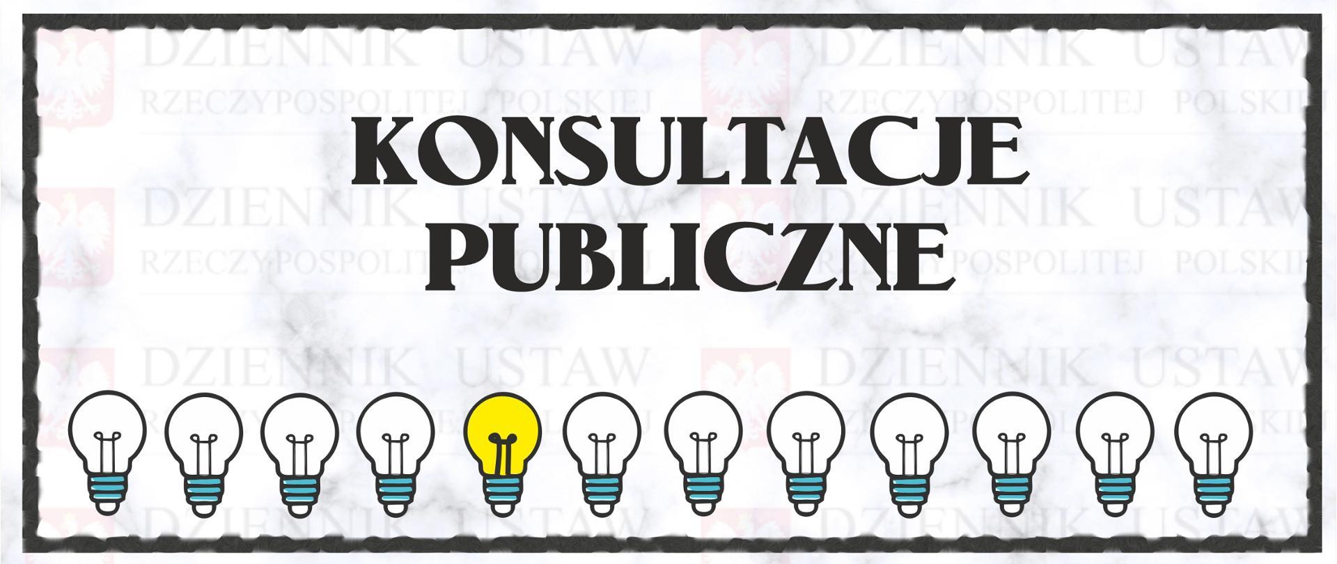 Konsultacje publiczne