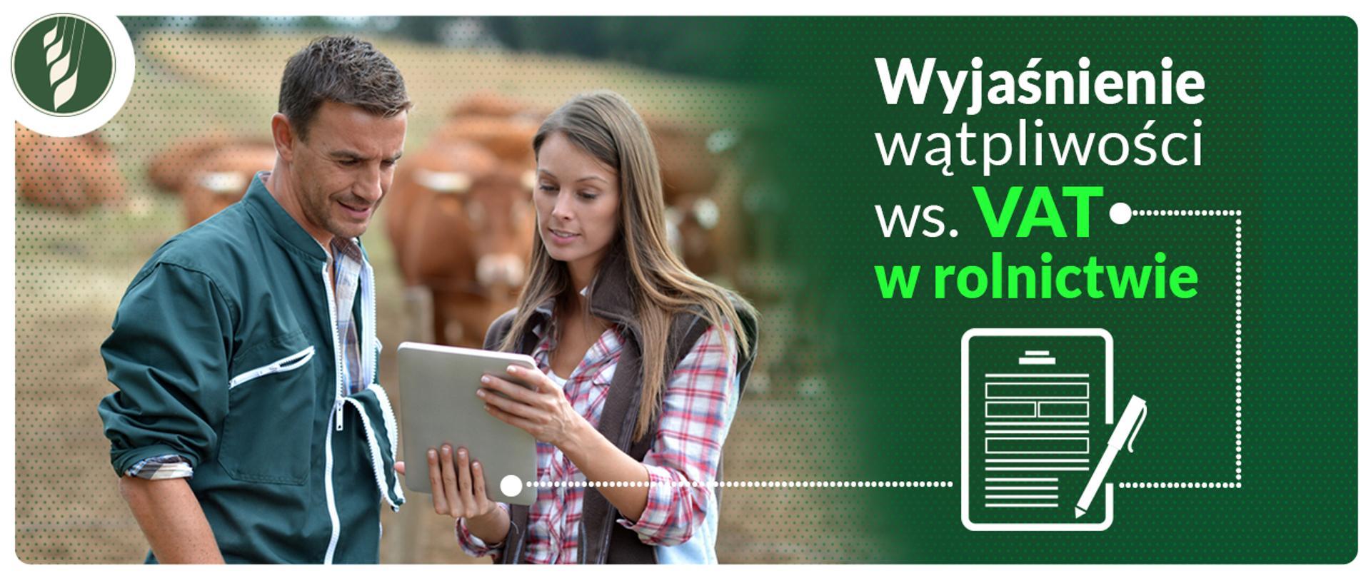 Stawki VAT w rolnictwie