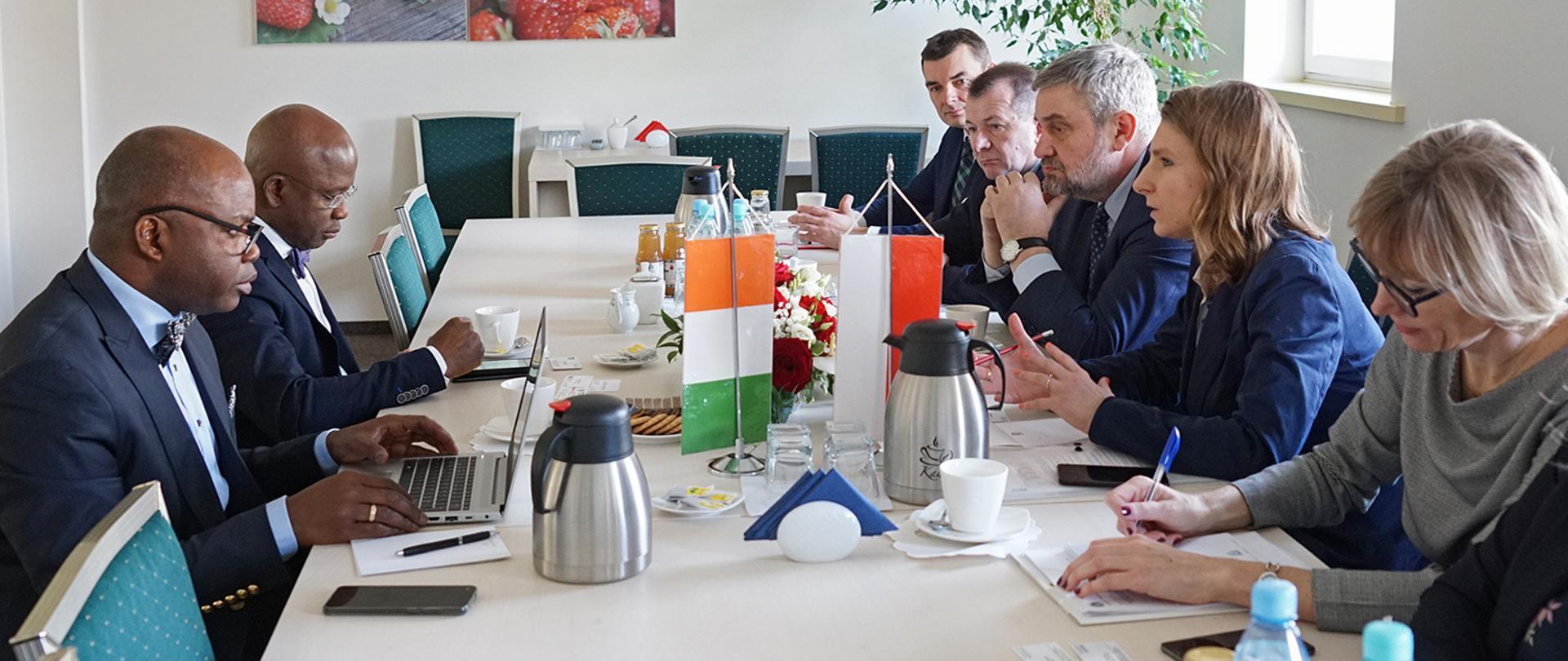 Wizyta delegacji Republiki Wybrzeża Kości Słoniowej