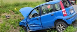 Wypadek w Kicinie