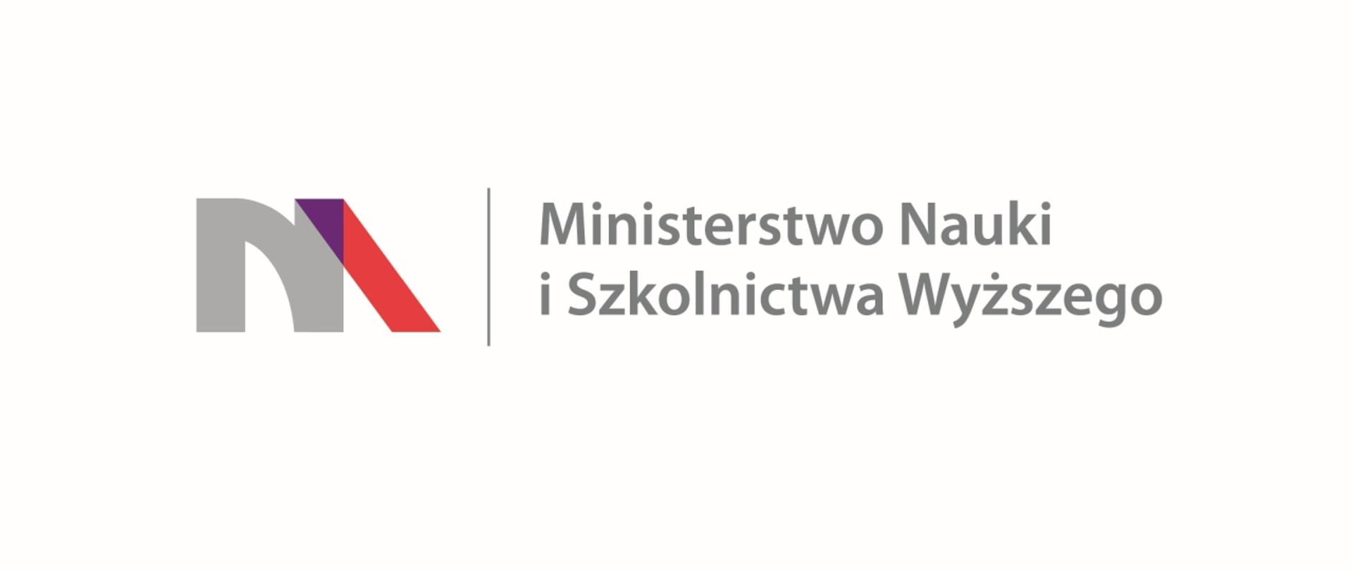 Logo - Ministerstwo Nauki i Szkolnictwa Wyższego