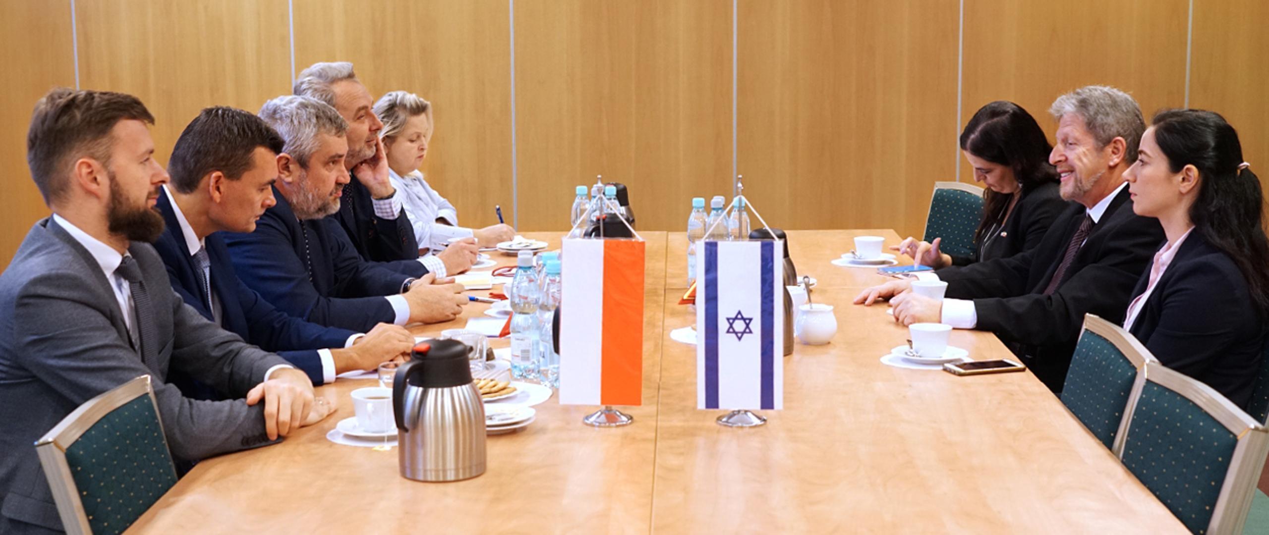 Spotkanie ministra J. K. Ardanowskiego z Ambasadorem Izraela