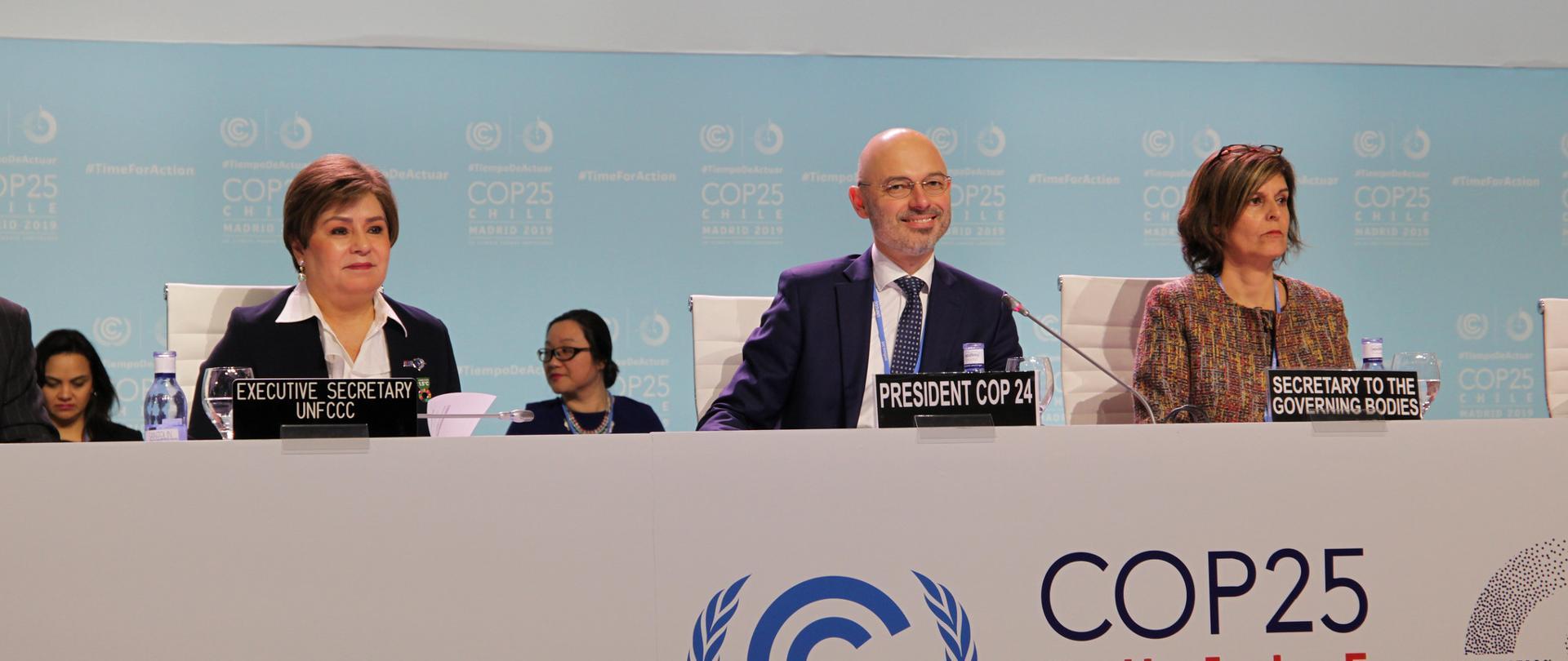 COP25 w Madrycie rozpoczęty. Polska przekazała prezydencję Chile