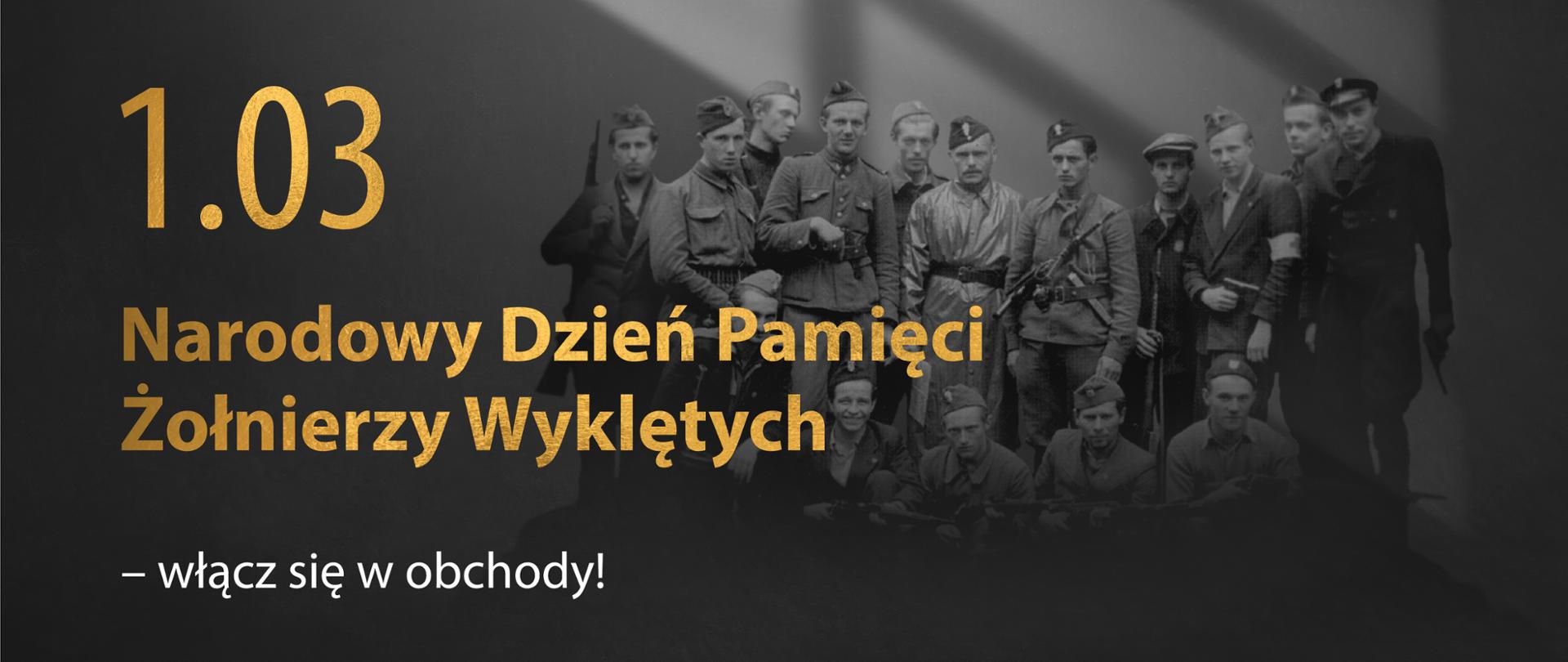 """Obchody Narodowego Dnia Pamięci """"Żołnierzy Wyklętych"""" - Ministerstwo  Edukacji i Nauki - Portal Gov.pl"""
