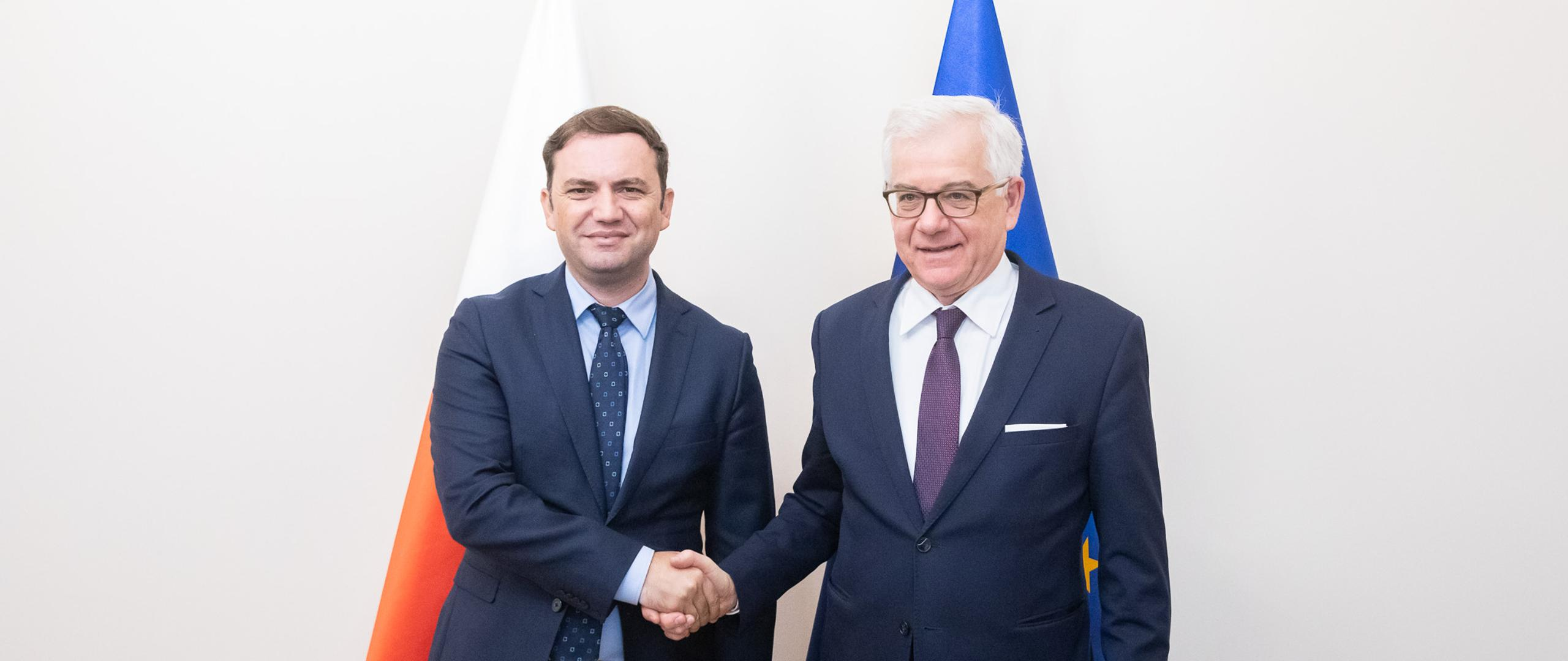 North Macedonian Deputy Prime Minister for European Affairs visits Warsaw