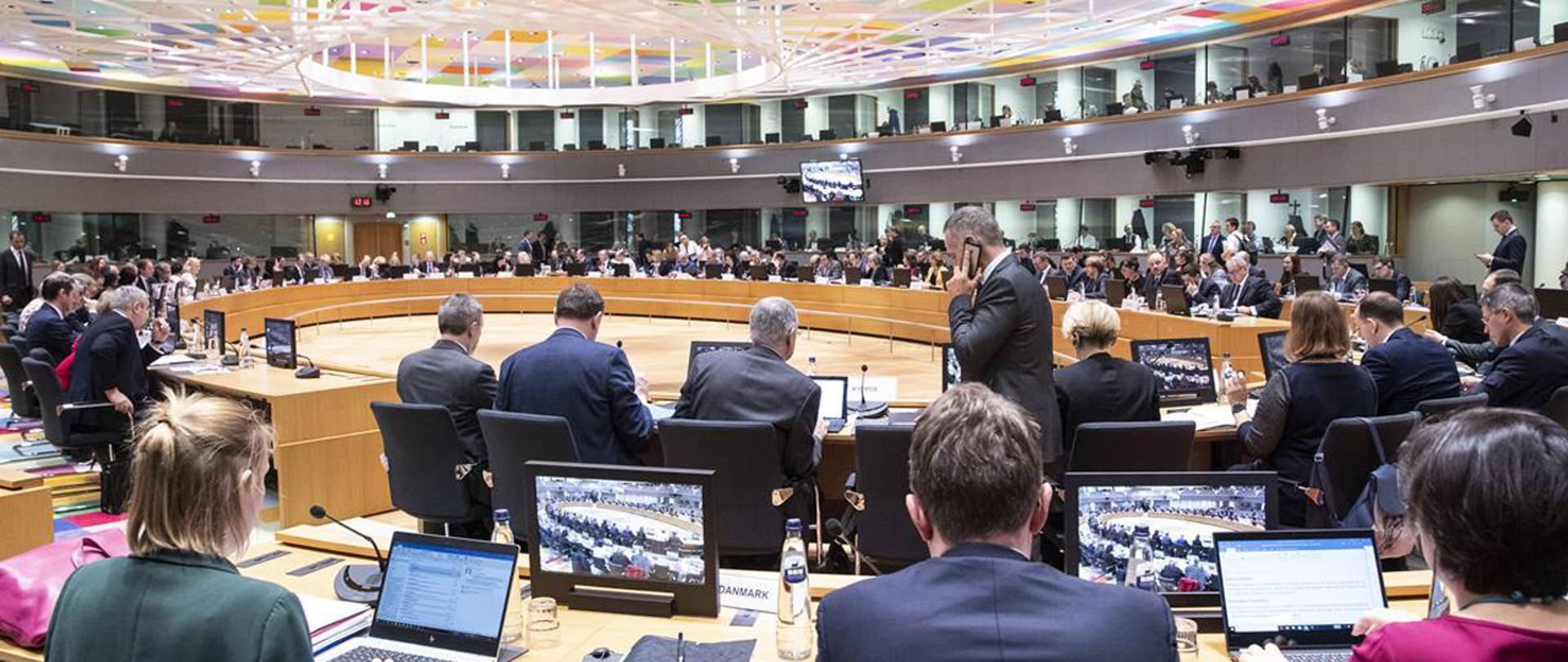 Posiedzenie Rady Ministrów rolnictwa państw UE w Brukseli