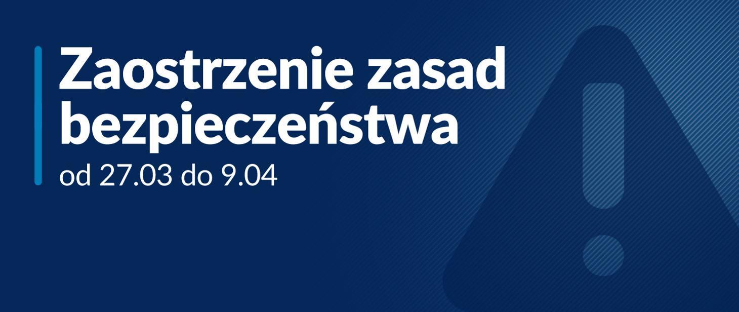 zmienione zasady bezpieczeństwa. Grafika z gov.pl