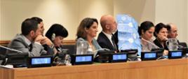 Wiceminister Michał Kurtyka na szczycie klimatycznym w Nowym Jorku w trakcie panelu wypowiada się
