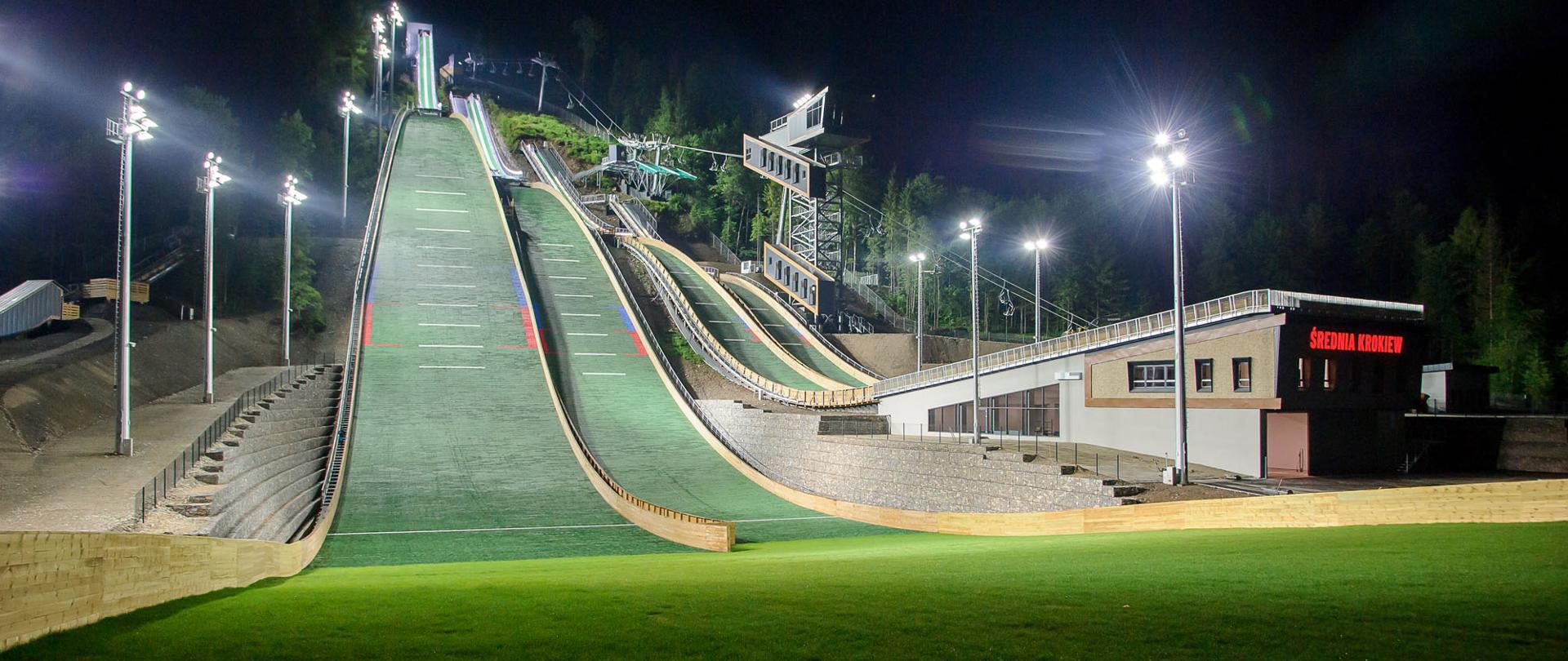 Kompleks skoczni Średniej Krokwi oficjalnie otwarty! , fot Centralny Ośrodek Sportu