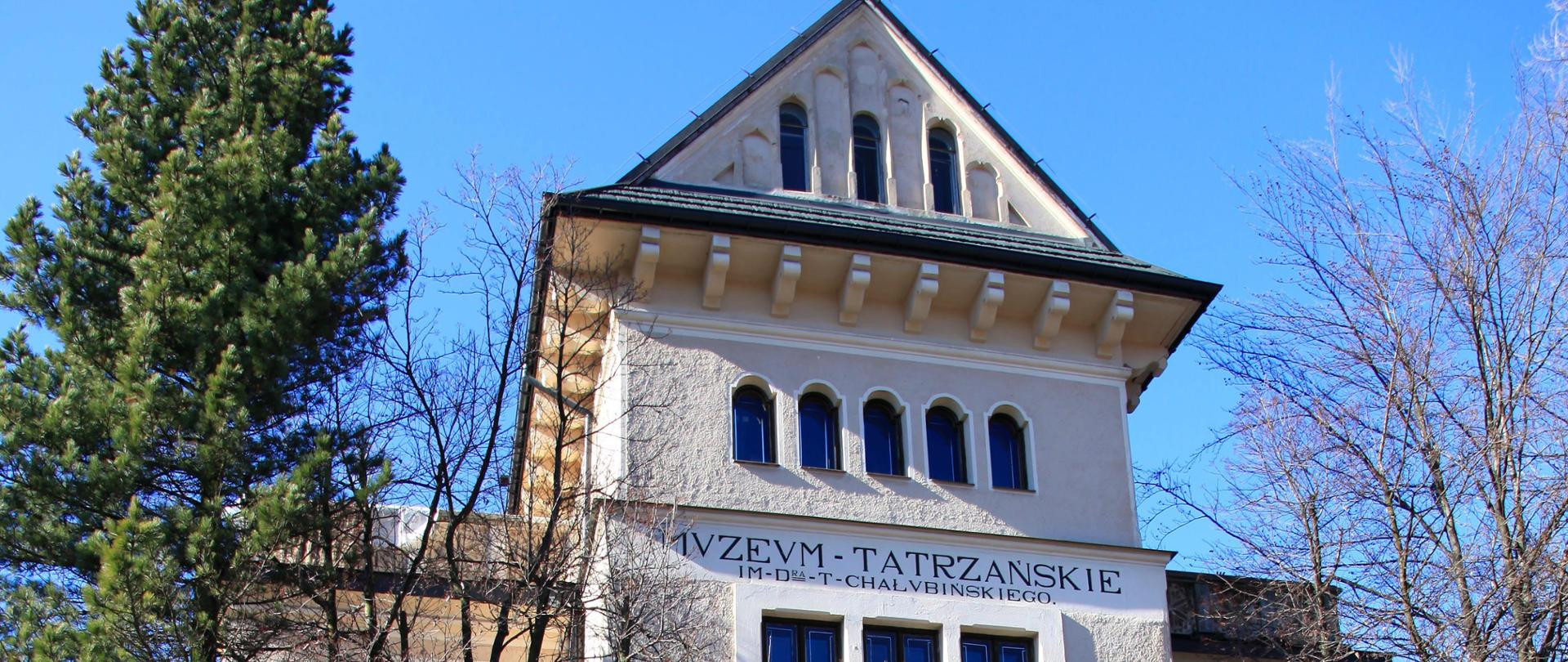 Muzeum Tatrzańskie w Zakopanem fot. PAP/Grzegorz Momot