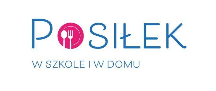 """Logo programu :Posiłek w szkole w i domu"""""""