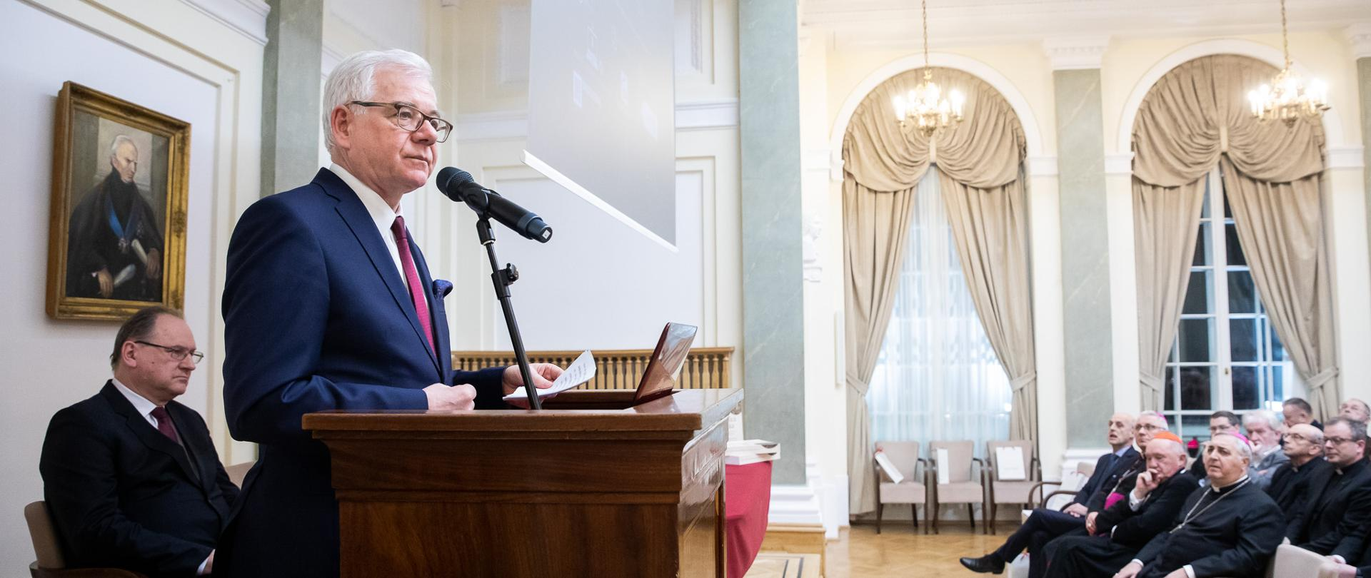 100th anniversary of renewed diplomatic relations between Poland and the Holy See – presentation of the book