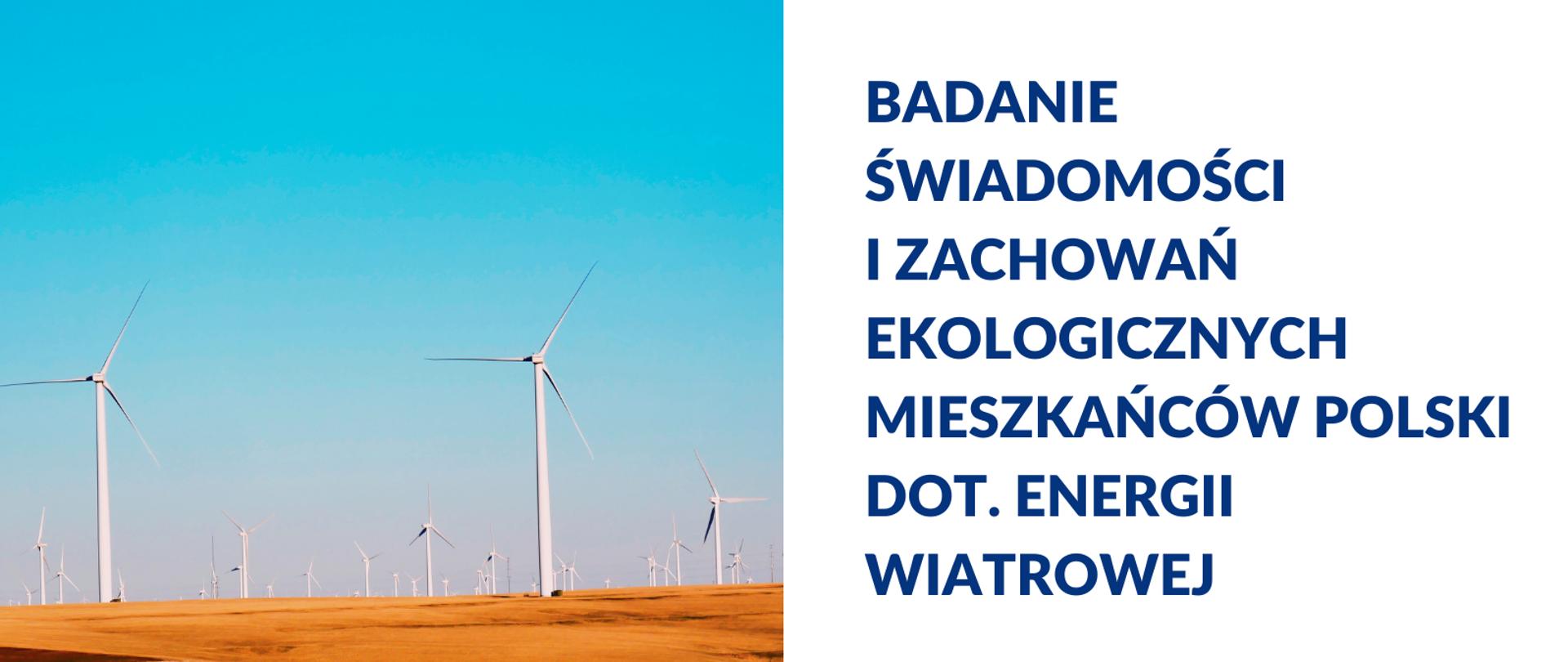 Co mieszkańcy Polski sądzą o energetyce wiatrowej