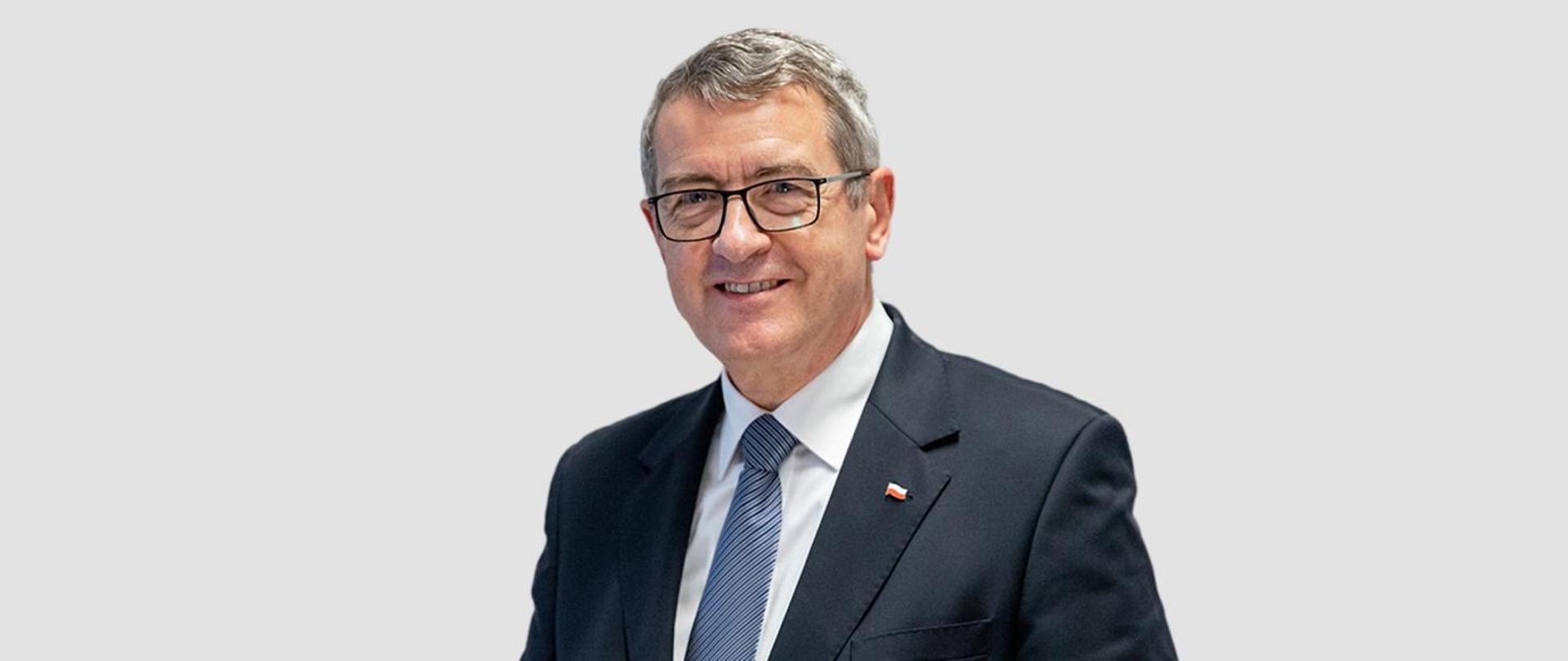 Minister Wojciech Murdzek
