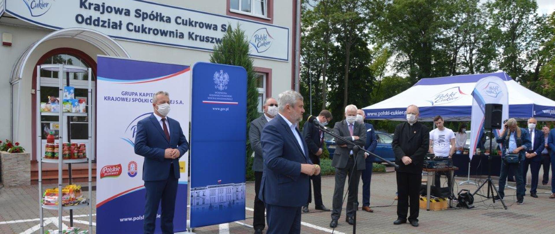 J.K. Ardanowski z wizytą w Cukrowni Kruszwica