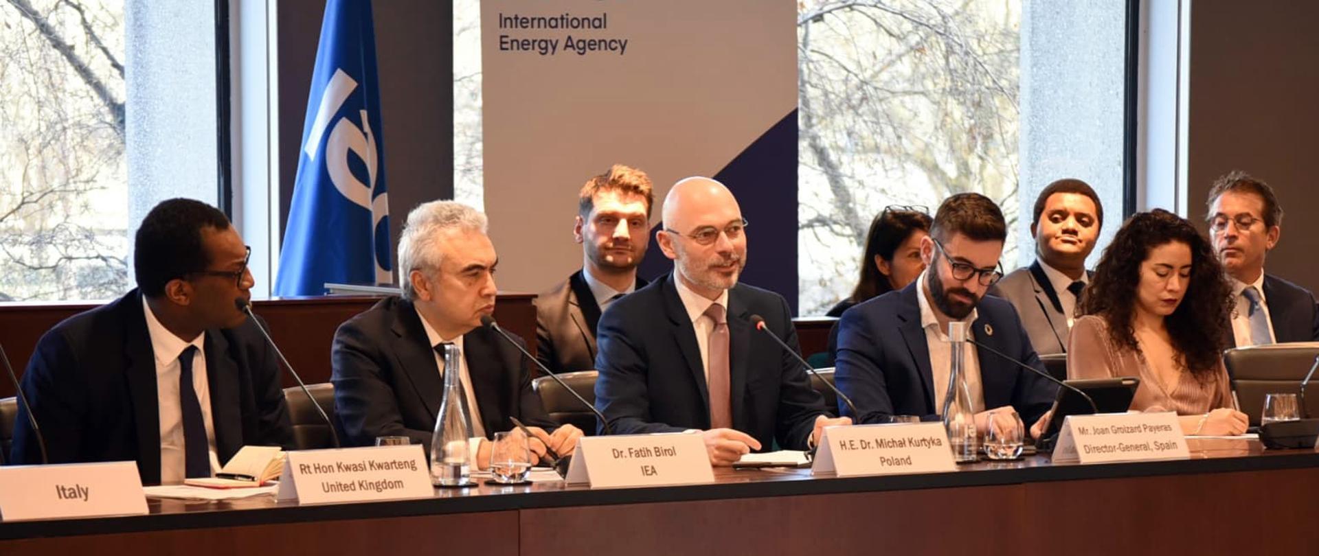 """Minister klimatu Michał Kurtyka uczestniczy w debacie IEA """"Building an Energy and Climate Grand Coalition"""""""