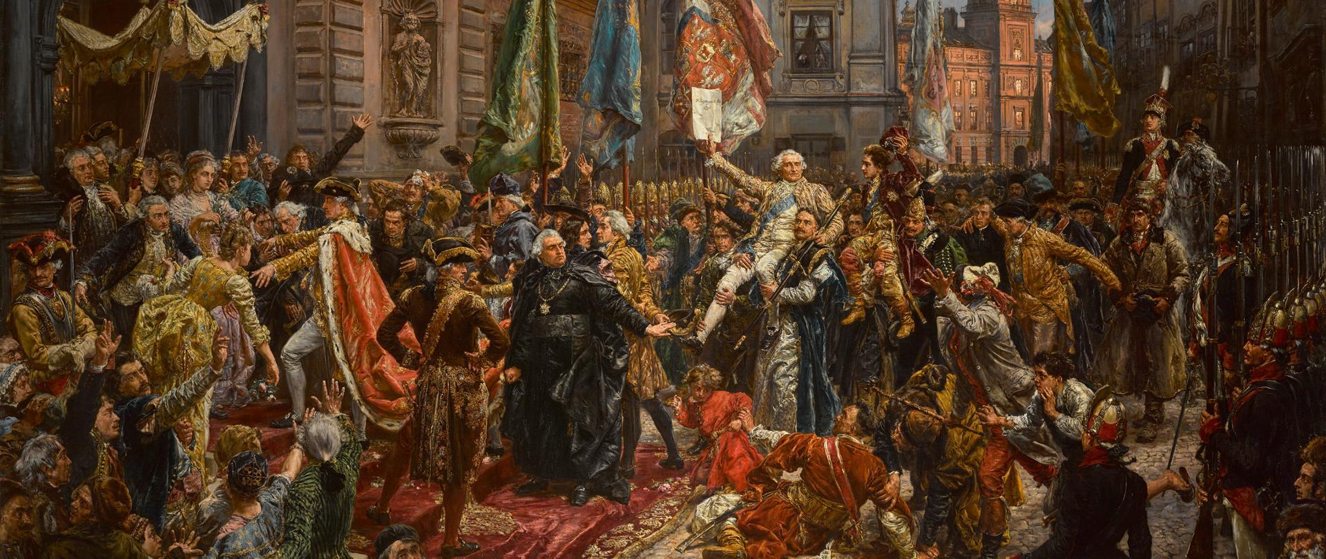 Konstytucja 3 maja, Zamek Królewski w Warszawie, fot. A. Ring, L. Sandzewicz.