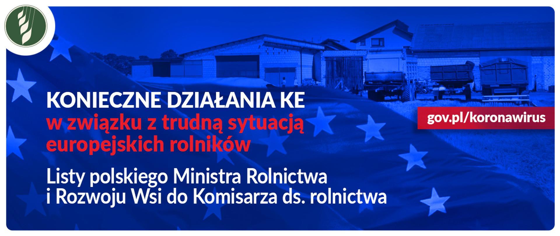 Listy polskiego Ministra Rolnictwa i Rozwoju Wsi do KE