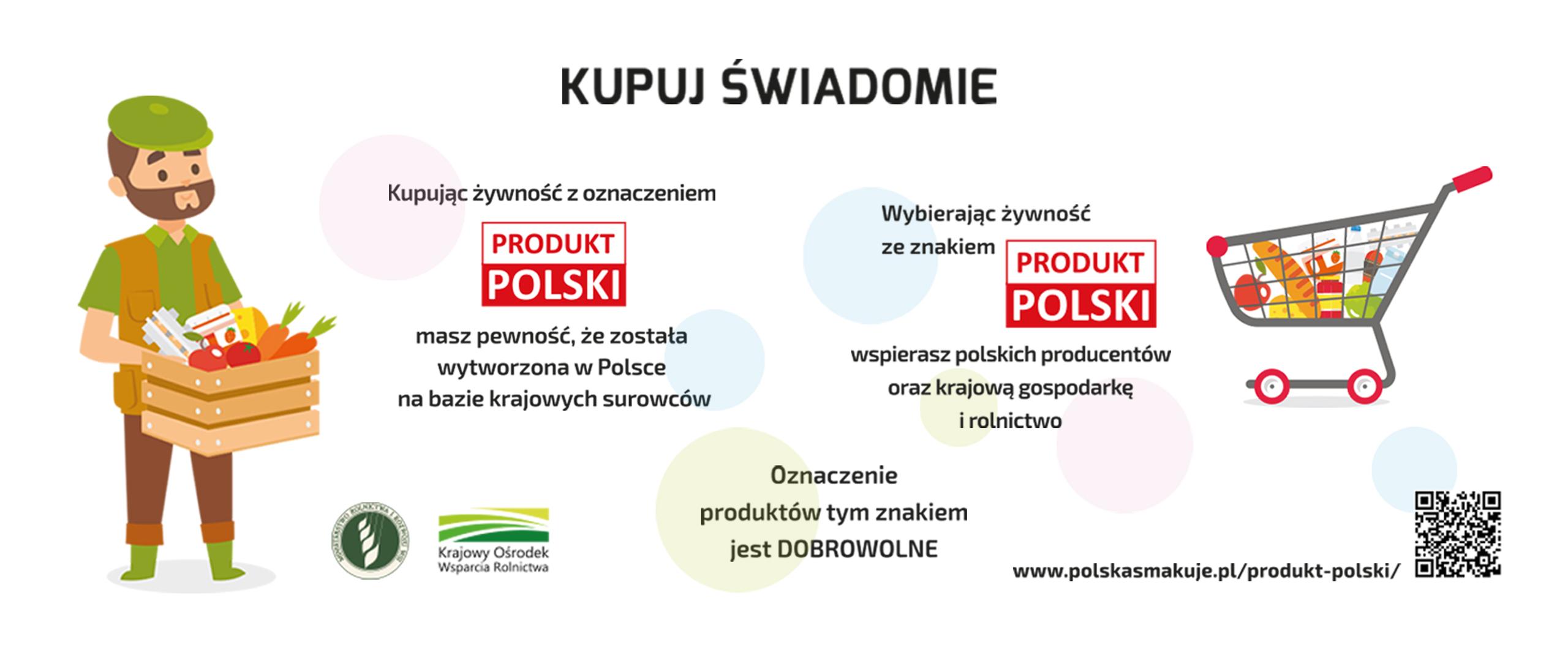 """Znakowanie żywności symbolem """"Produkt polski"""""""