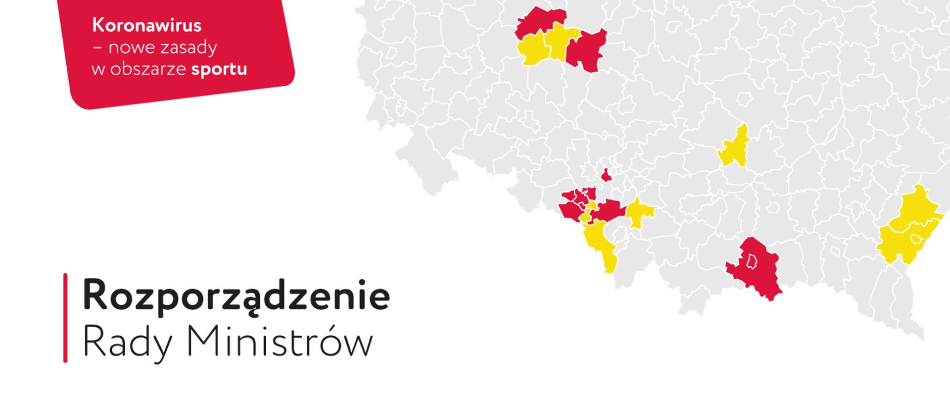Nowe zasady w obszarze sportu w powiatach z największym przyrostem zakażeń  COVID-19 - Ministerstwo Sportu - Portal Gov.pl