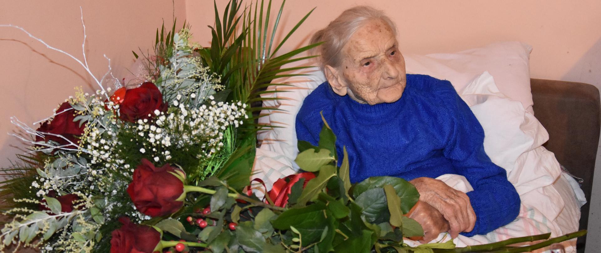 Jubilatka w dniu swoich 107. urodzin